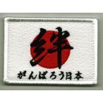 自衛隊 (航空・陸上自衛隊)2011〜2016年 日の丸・絆 がんばろう日本 ボランティア肩パッチ