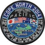 日米合同演習コープノースグアム(CNG)2014年参加パッチ(米)