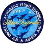 ブルーインパルス2011.3/11〜2013.3/31  九州滞在記念パッチ
