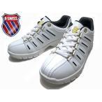 ケースイス K・SWISS KSL 01 KSL 01 ミッドカットモデル スニーカー ホワイトダークブラウンゴールド メンズ レディース 靴
