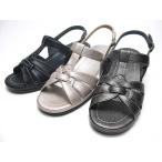 アンナコレクション ANNA COLLECTION ウエッジヒールバックバンドサンダル レディース・靴