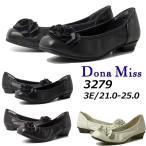 ドナミス  Dona Miss フラワーモチーフ付きパンプス レディース・靴
