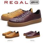 リーガル REGAL メンズカジュアル レザースニーカー 72UR BJ