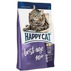 エントリーでP14倍以上!ハッピーキャット スプリーム ベストエイジ10+ 全猫種 高齢猫用 極小粒 1.4kg 70243 (キャットフード ドライ バランス食 猫フード)