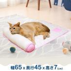 ペットベッド 夏用 犬 猫 JUTE麻100% やさしいマット 枕つき マット ジュート ベッド さらさら 自然素材 枕 ヒンヤリ 麻 ドギーマン