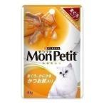 Yahoo!にゃんこの生活(セール)  モンプチ かつお節入りスープ40GD キャットフード 成猫用 パウチ ウェット