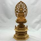 仏像 白木 座釈迦 3.0寸