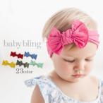 baby bling (ベビーブリング) ベビー ヘアバンド ヘッドバンド リボン Classic Knots (クラシック ノット) 赤ちゃん アクセサリー