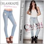 BLANK NYC ブランクニューヨーク クラッシュ加工 アンクル スキニージーンズ ストレッチ The Skinny Classique ダメージ デニム TRIPP NYC J BRAND 24K-7001