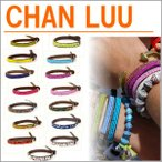チャンルー ブレスレット CHAN LUU シングルブレスレット シード ビーズブレスレット ミサンガ チャン ルー レザー