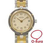 【値下げしました】 中古 エルメス 腕時計 クリッパー レディース クォーツ