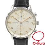 【値下げしました】 中古 IWC 腕時計 ポルトギーゼ クロノグラフ メンズ