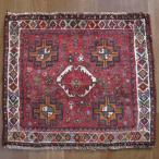 クーポンで40%OFF!ギャッベ ギャベ 座布団 カシュガイ族のミニ絨毯 53×61cm