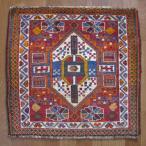 クーポンで40%OFF!ギャッベ ギャベ 座布団 カシュガイ族のミニ絨毯 57×58cm
