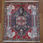 クーポンで40%OFF!ギャッベ ギャベ 座布団 カシュガイ族のミニ絨毯 67×60cm