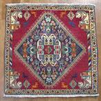 クーポンで40%OFF!ギャッベ ギャベ 座布団 カシュガイ族のミニ絨毯 66×68cm