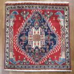 クーポンで40%OFF!ギャッベ ギャベ 座布団 カシュガイ族のミニ絨毯 64×60cm