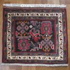 クーポンで40%OFF!ギャッベ ギャベ 座布団 カシュガイ族のミニ絨毯 60×70cm