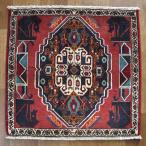 クーポンで40%OFF!ギャッベ ギャベ 座布団 カシュガイ族のミニ絨毯 64×67cm