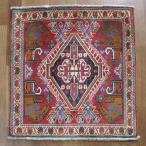 クーポンで40%OFF!ギャッベ ギャベ 座布団 カシュガイ族のミニ絨毯 65×63cm