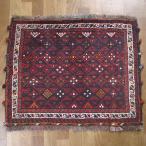 クーポンで40%OFF!ギャッベ ギャベ 座布団 カシュガイ族のミニ絨毯 63×77cm