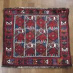 クーポンで40%OFF!ギャッベ ギャベ 座布団 カシュガイ族のミニ絨毯 61×70cm