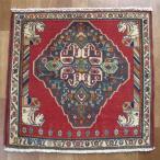 クーポンで40%OFF!ギャッベ ギャベ 座布団 カシュガイ族のミニ絨毯 61×64cm