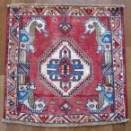 クーポンで40%OFF!ギャッベ ギャベ 座布団 カシュガイ族のミニ絨毯 63×64cm