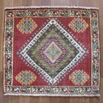 クーポンで40%OFF!ギャッベ ギャベ 座布団 カシュガイ族のミニ絨毯 62×70cm
