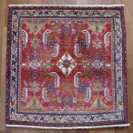 クーポンで40%OFF!ギャッベ ギャベ 座布団 カシュガイ族のミニ絨毯 68×69cm