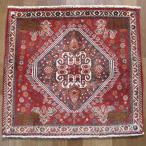 クーポンで40%OFF!ギャッベ ギャベ 座布団 カシュガイ族のミニ絨毯 60×67cm