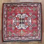 クーポンで40%OFF!ギャッベ ギャベ 座布団 カシュガイ族のミニ絨毯 64×65cm