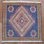 クーポンで40%OFF!ギャッベ ギャベ 座布団 カシュガイ族のミニ絨毯 59×60cm
