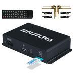 FUTURE 地デジチューナー 車載用 フルセグチューナー 高性能 4×4 地デジタル フルセグ TV チューナー AV HDMI出力対応