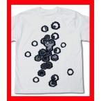 ウサビッチ Tシャツ ボリス銃痕 WHITE-S