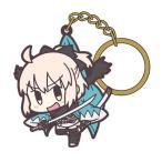 Fate/Grand Order つままれキーホルダー セイバー/沖田総司【予約 再販 4月下旬 発売予定】
