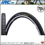 IRC SERAC CX MUD TUBELESS/シラクCX マッド チューブレス(700x32C)(クロスバイク用)(自転車用)(タイヤ)