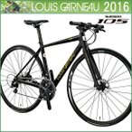 ショッピングルイガノ ルイガノ 2016 LGS-RSR 1 クロスバイク/フラットバーロード LOUIS GARNEAU 2016年モデル 自転車