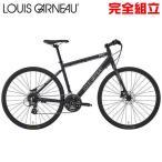 ルイガノ セッター9.0ディスク MATTE LG BLACK クロスバイク LOUIS GARNEAU SETTER9.0 DISC