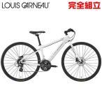 ルイガノ セッター9.0ディスク LG WHITE クロスバイク LOUIS GARNEAU SETTER9.0 DISC