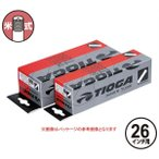 TIOGA(タイオガ) インナー チューブ 米式 26インチ/Inner Tube (American Valve) (TIT111)(26inch)(MTB用)(米式バルブ口)