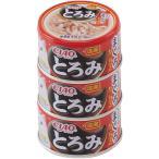 いなばペットフード 猫用 キャットフード CIAO(チャオ)とろみ缶 ささみ・まぐろ カニカマ入り80gx3缶パック 数量限定 セール