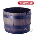 サントリーの本格ウイスキー樽プランター ナチュラル H-60N ハセ