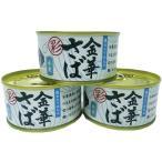 木の屋石巻水産 金華さば水煮 缶詰 「彩」 T2(170g) 3缶