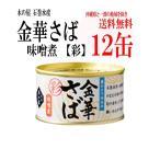 (送料込み) 木の屋石巻水産 金華さば味噌煮缶詰 「彩」T2(170g) 12缶