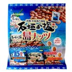 南都物産 石垣の塩島ナッツ(大袋)16g×15袋 3種の味 【常温便/送料別】