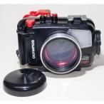 カメラレンズ 6C改 ふわっとやわらかいマクロ撮影 オリンパス防水プロテクターPT-056対応