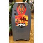 NMDボディボード 「BEN PLAYER PP」 40.5インチ(102.9cm) グレー×黒