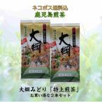 《新茶》【2本セットでメール便送料無料】鹿児島煎茶『大綱みどり「金」100g2本セット』当店の看板商品で実店舗でも指名買いいただく人気の鹿児島茶です