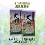 【2本セットでメール便送料無料】鹿児島煎茶『大綱みどり「紫」100g2本セット』当店の看板商品で実店舗でも指名買いいただく人気の鹿児島茶です